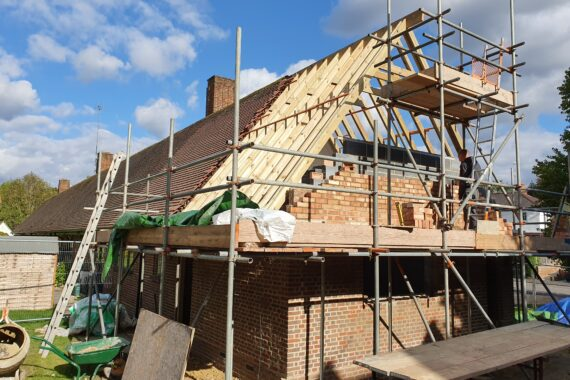 Top Drawer Construction single story extension Windlesham Surrey