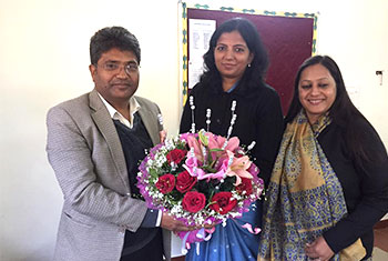 GWH is honoured to have Dr. Anuj S. Singh, Eminent Educationist
