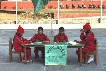 Inter House Maths Olympiad for class 1st to 3rd