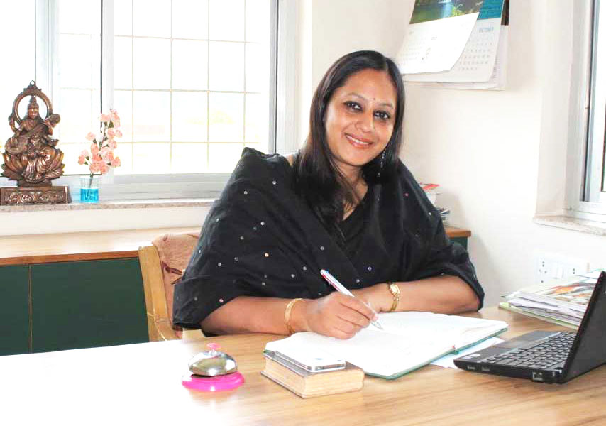Mrs. Nidhi Nanda, Director of Greenwood Hills School