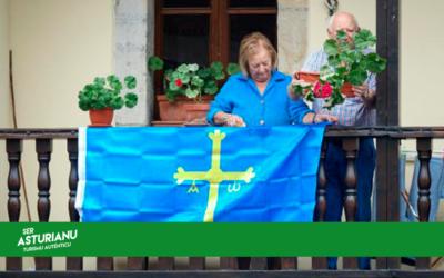 Origen y significado de la bandera asturiana