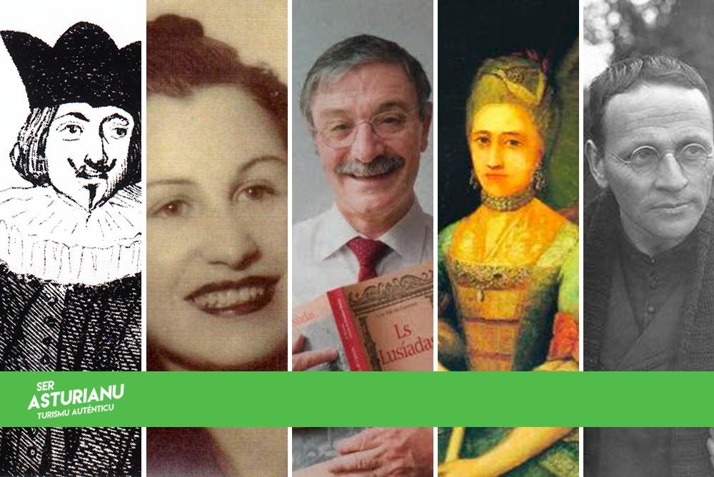 7 escritores 'clásicos' en llingua asturllionesa