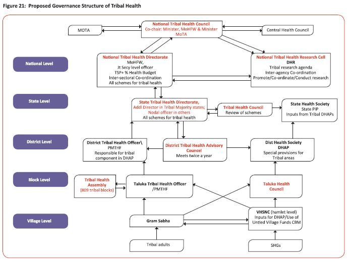 Proposed Governance Structure of Tribal Health
