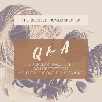 """5 Popular Topics Q & A – Do I Like Tattoos? Is There A """"The One"""" For Everyone?"""