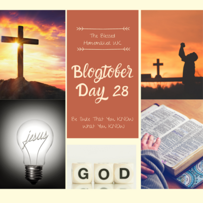 Blogtober Day 28 – Don't Be A False Prophet