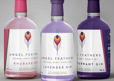 Angel Feathers Craft Gin