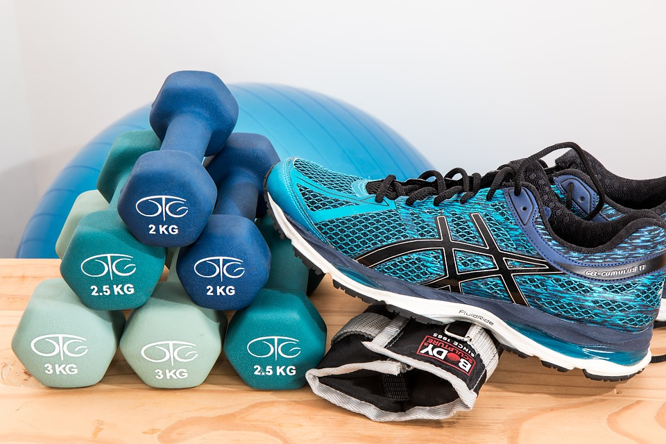Home Gym | How to create a gym at home for exercise and fitness | Elle Blonde Luxury Lifestyle Destination Blog