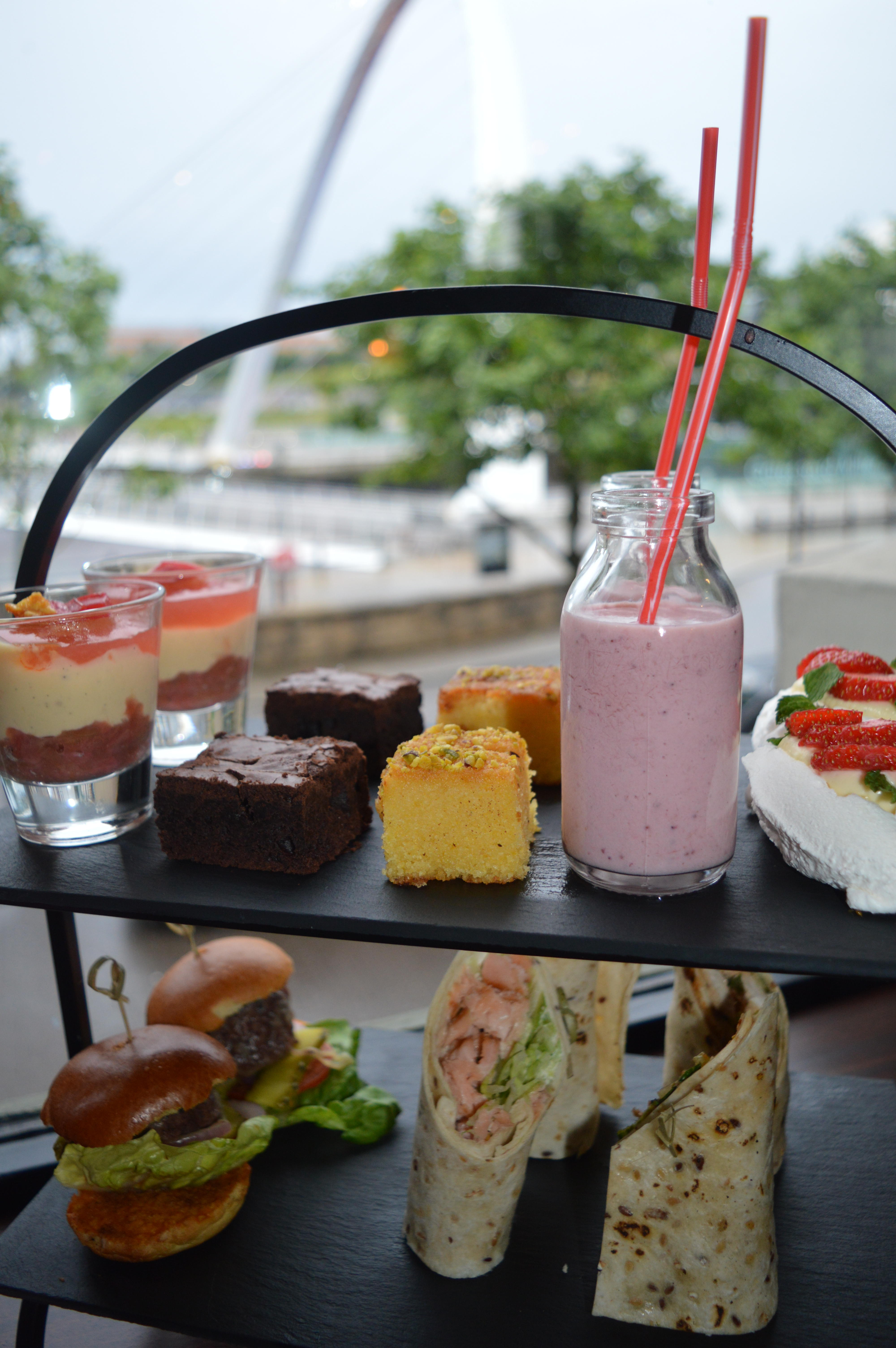Afternoon Tea at The Malmaison Newcastle Quayside   Where to eat in Newcastle Food Reviews & Guide   Elle Blonde Luxury Lifestyle Destination Blog