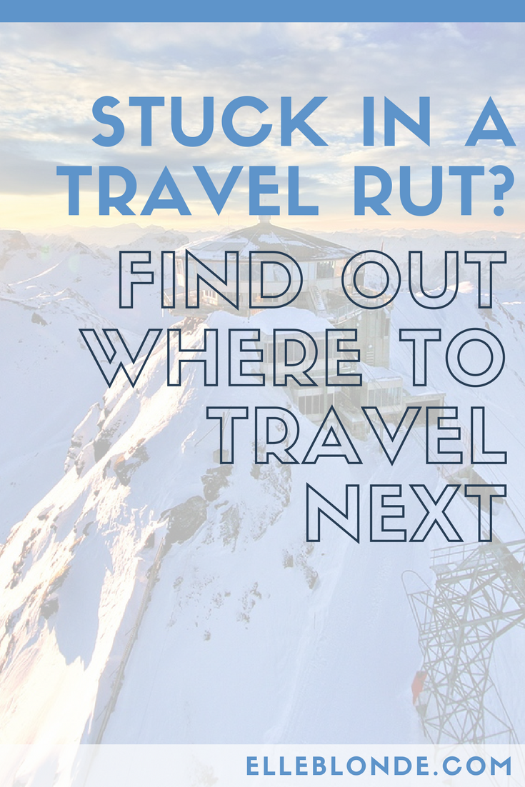 Guest Post: Getting out of a travel rut 1