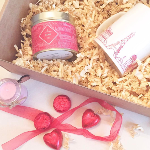 Scent from candle subscription box, Paris Valentine's Day edition | Elle Blonde Luxury Lifestyle Destination