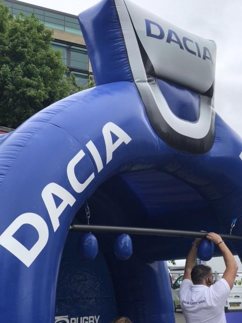 Dacia Magic Weekend | Rugby League's Weekend St James' Park | Newcastle Guide | Elle Blonde Luxury Lifestyle Destination Blog