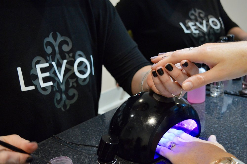 Levoi Nail Bar Hen Party in Newcastle | Beauty Guide | Elle Blonde Luxury Lifestyle Destination Blog
