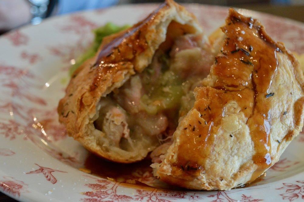 pie_filling_chicken_leek_ham_baked_camembert_with_bacon_the_botanist_newcastle_new_summer_menu_launch_elle_blonde_luxury_lifestyle_blog