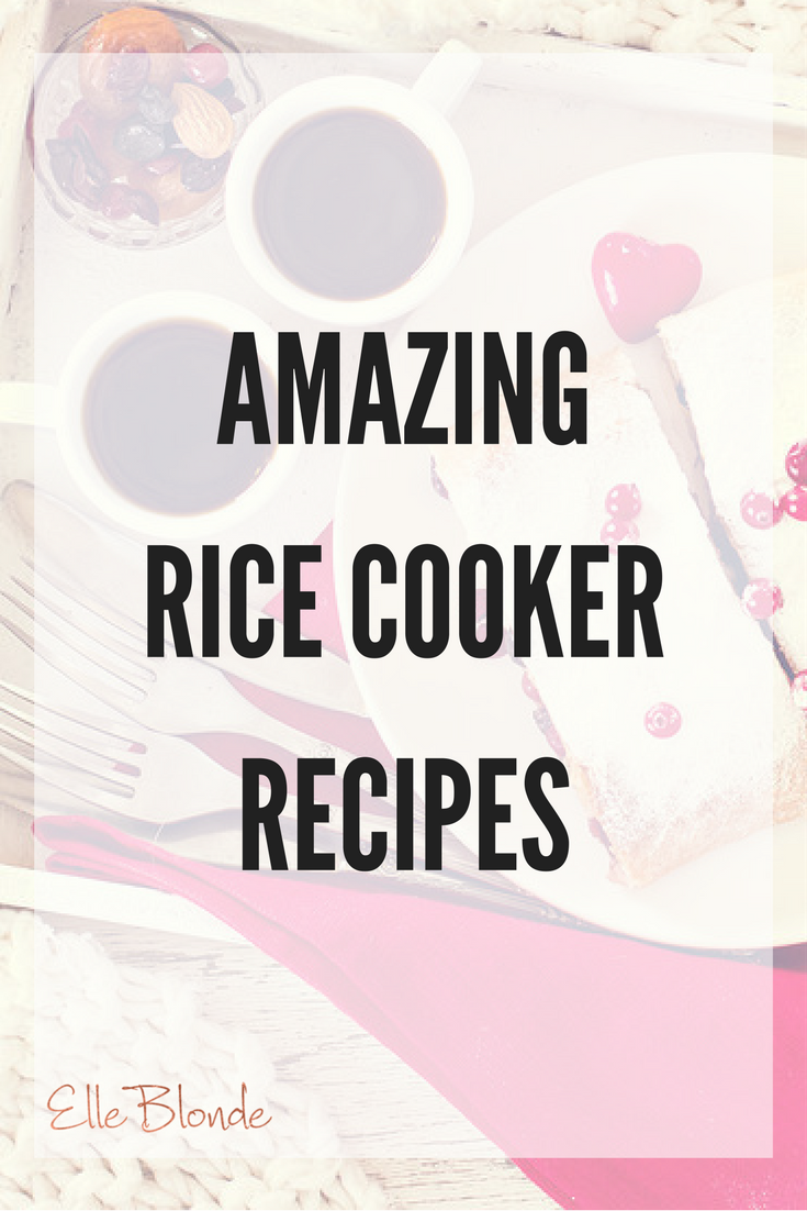 Amazing Ideas for Cooking with Rice Cooker 5