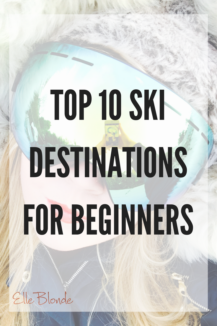 Top 10 Ski Destinations for Beginners with Ski Goggle GIVEAWAY 3