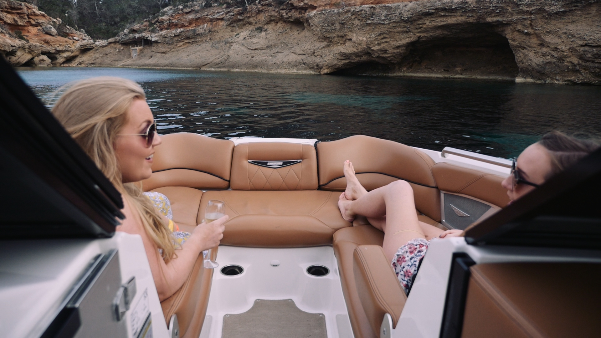 Ibiza Sunset Boat Cruises Elle Blonde Luxury Lifestyle Blog