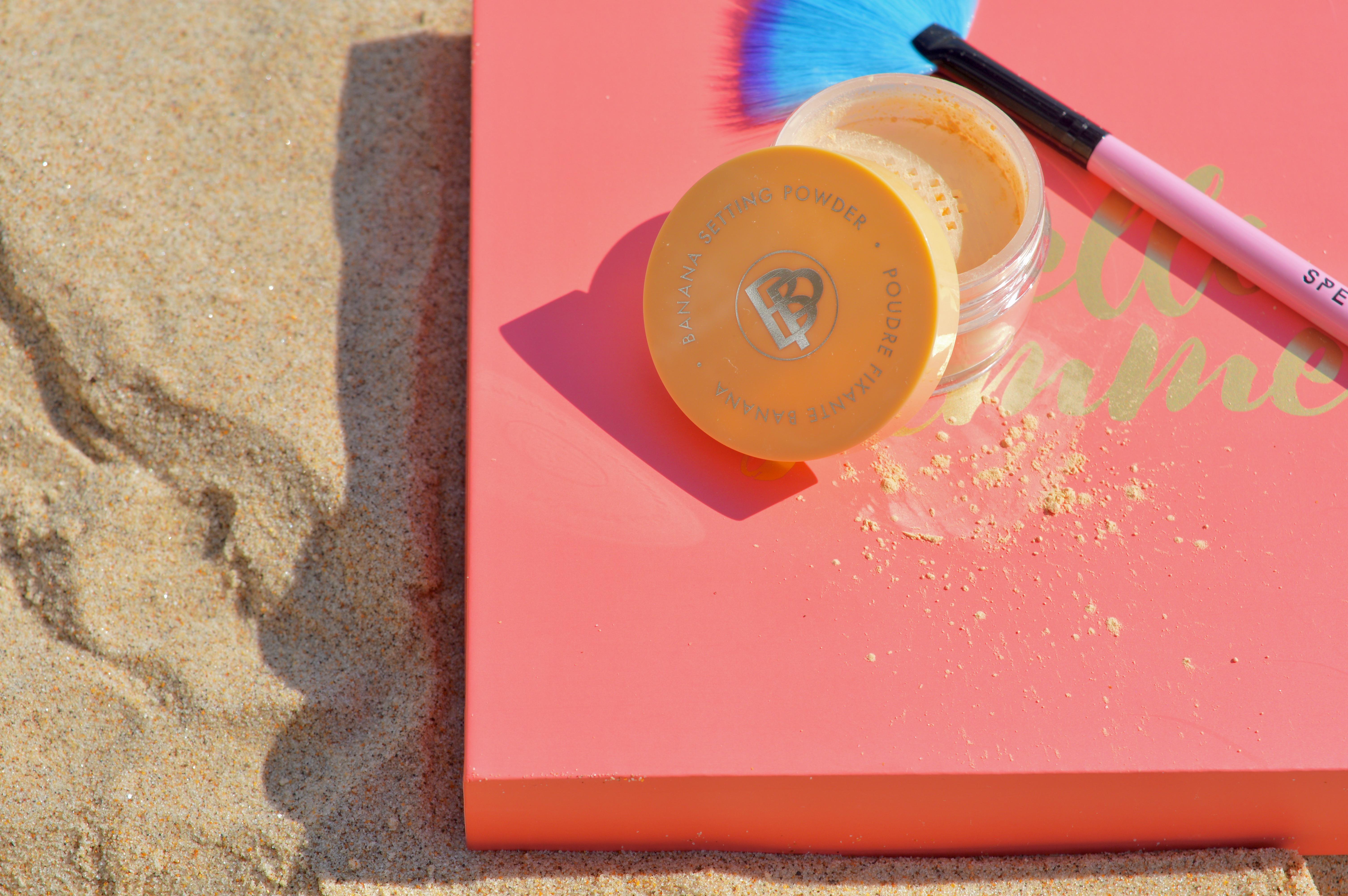 Hello Summer Belle-Pierre-Banana-Setting-Powder-Hello-Summer-July-Glossybox-Subscription-Box-Elle-Blonde-Luxury-Lifestyle-Destination