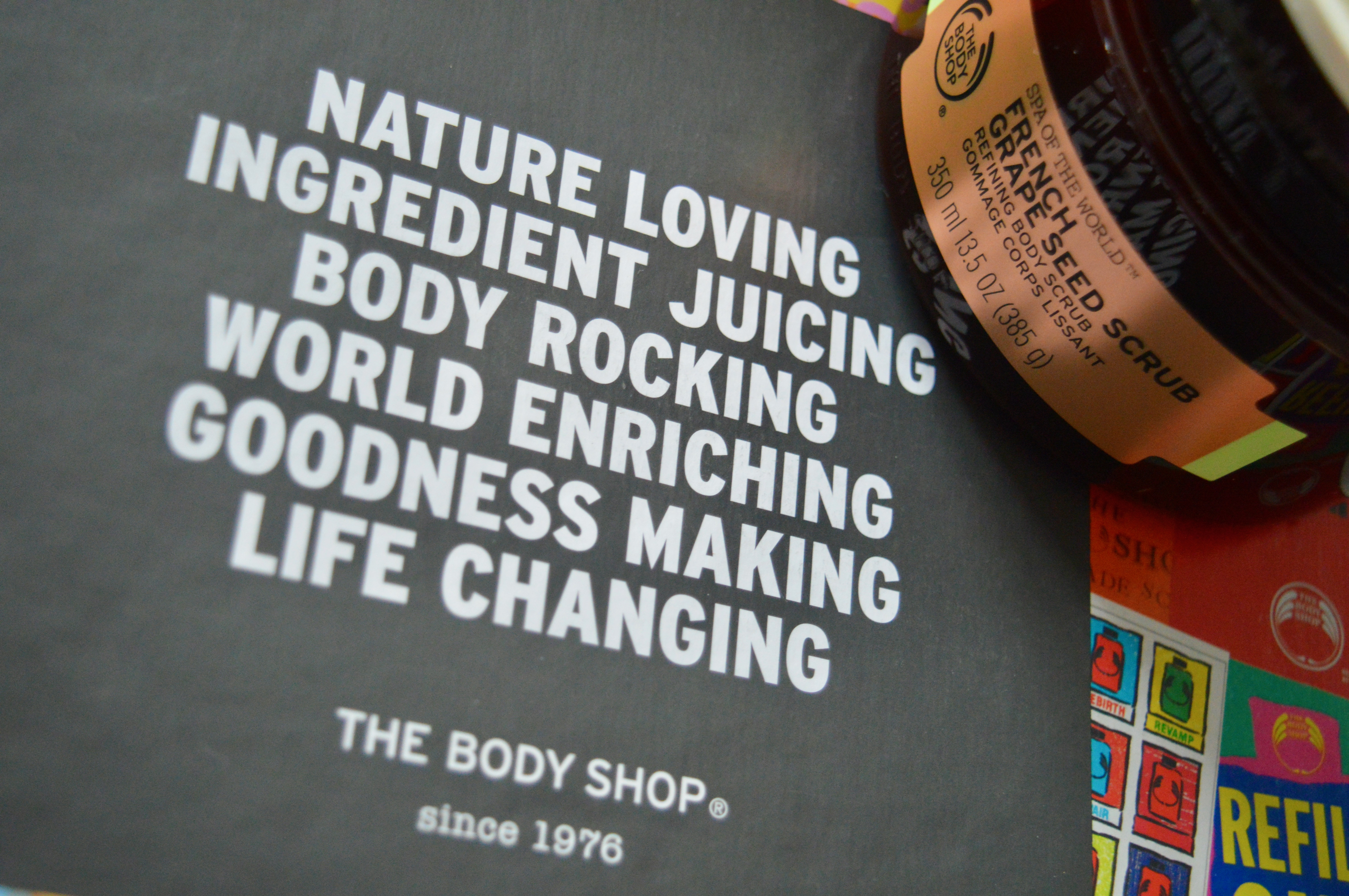 The Body Shop Spa of the World Firming and Toning Range Elle Blonde