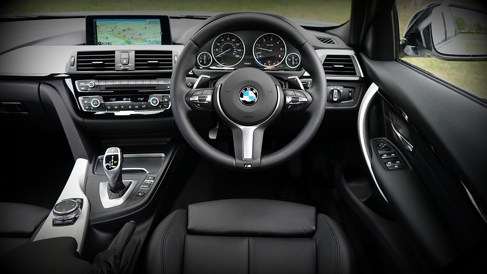 BMW Cleaning Car