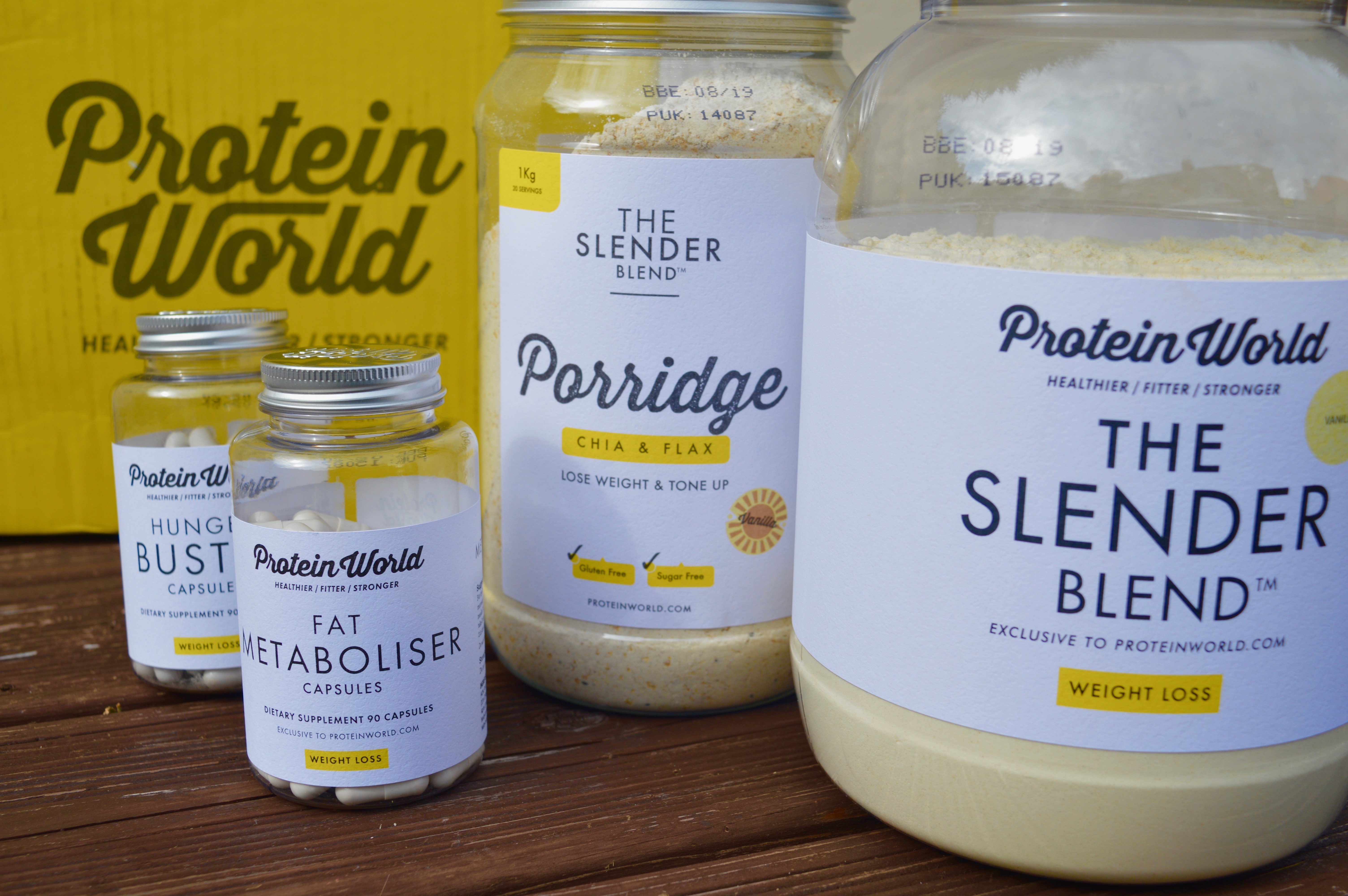 Protein World Wight Loss Meal Replacement Shakes | Fitness & Health | Elle Blonde Luxury Lifestyle Destination Blog
