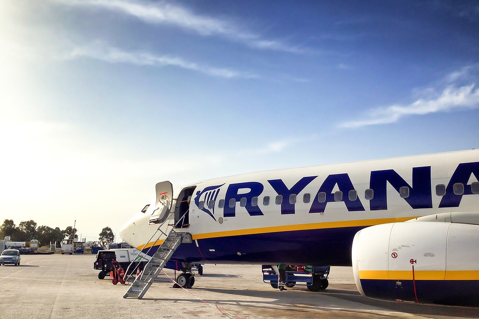 which ryanair flights cancelled today
