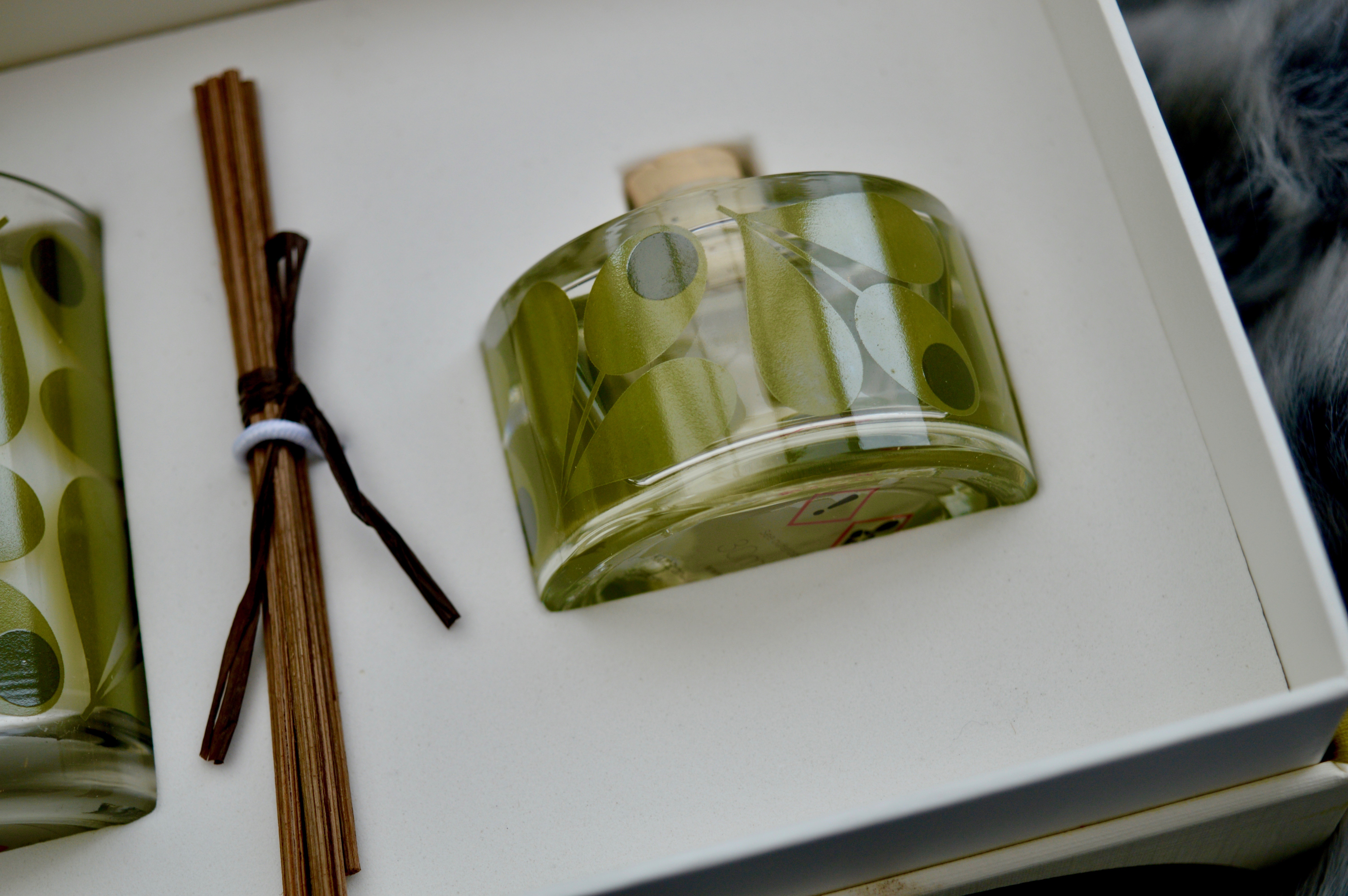 Orla Kiely Fig Tree Reed Diffuser & Candle Set   Home Interiors Gift   Christmas Gift Guide - What to buy your Grandma   Elle Blonde Luxury Lifestyle Destination Blog