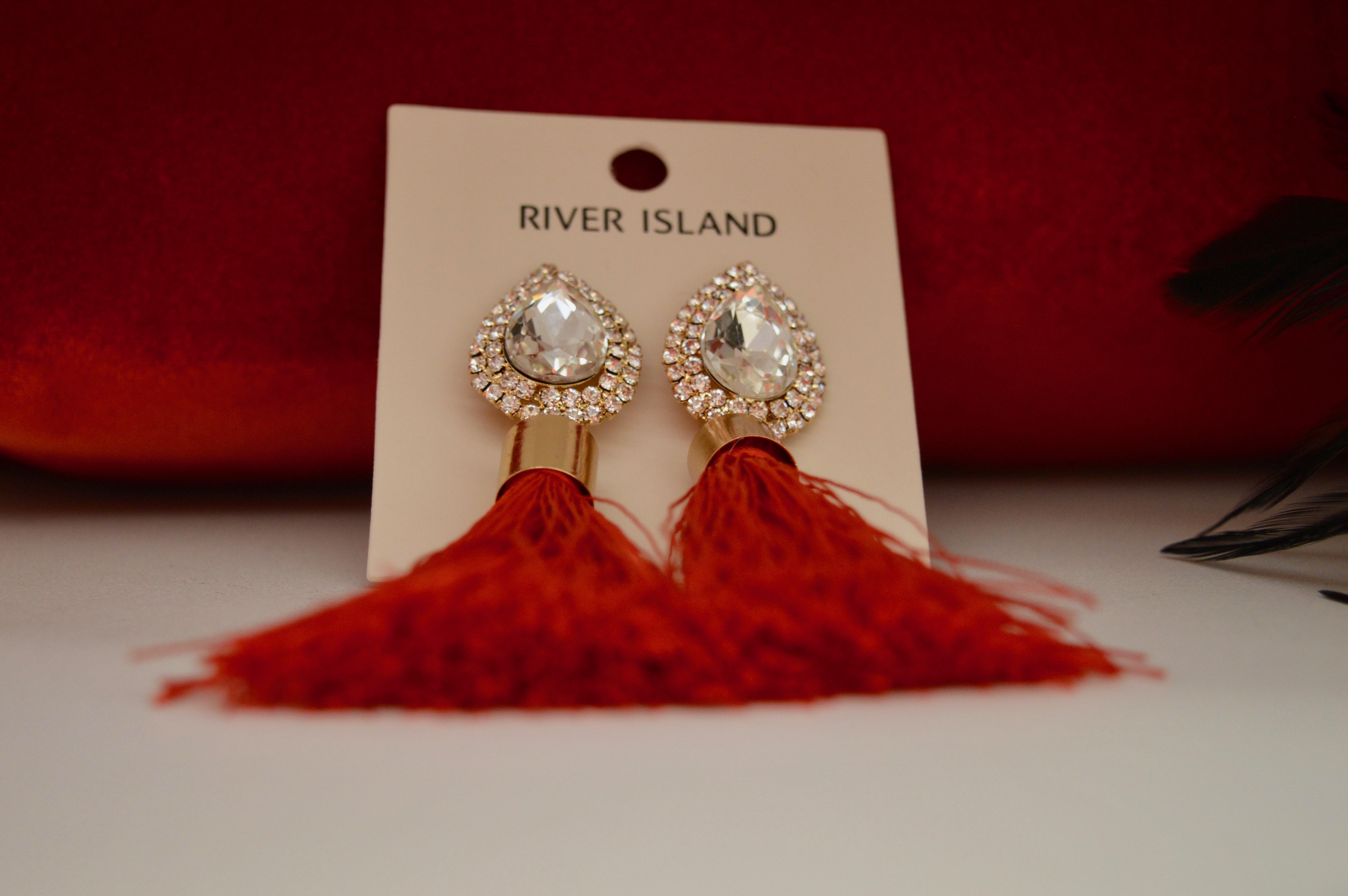 Fashion Jewellery river-island-tassle-earrings-intu-eldon-square-winter-fashion-stylissimo-newcastle-high-street-halloween-elle-blonde-luxury-lifestyle-destination-blog
