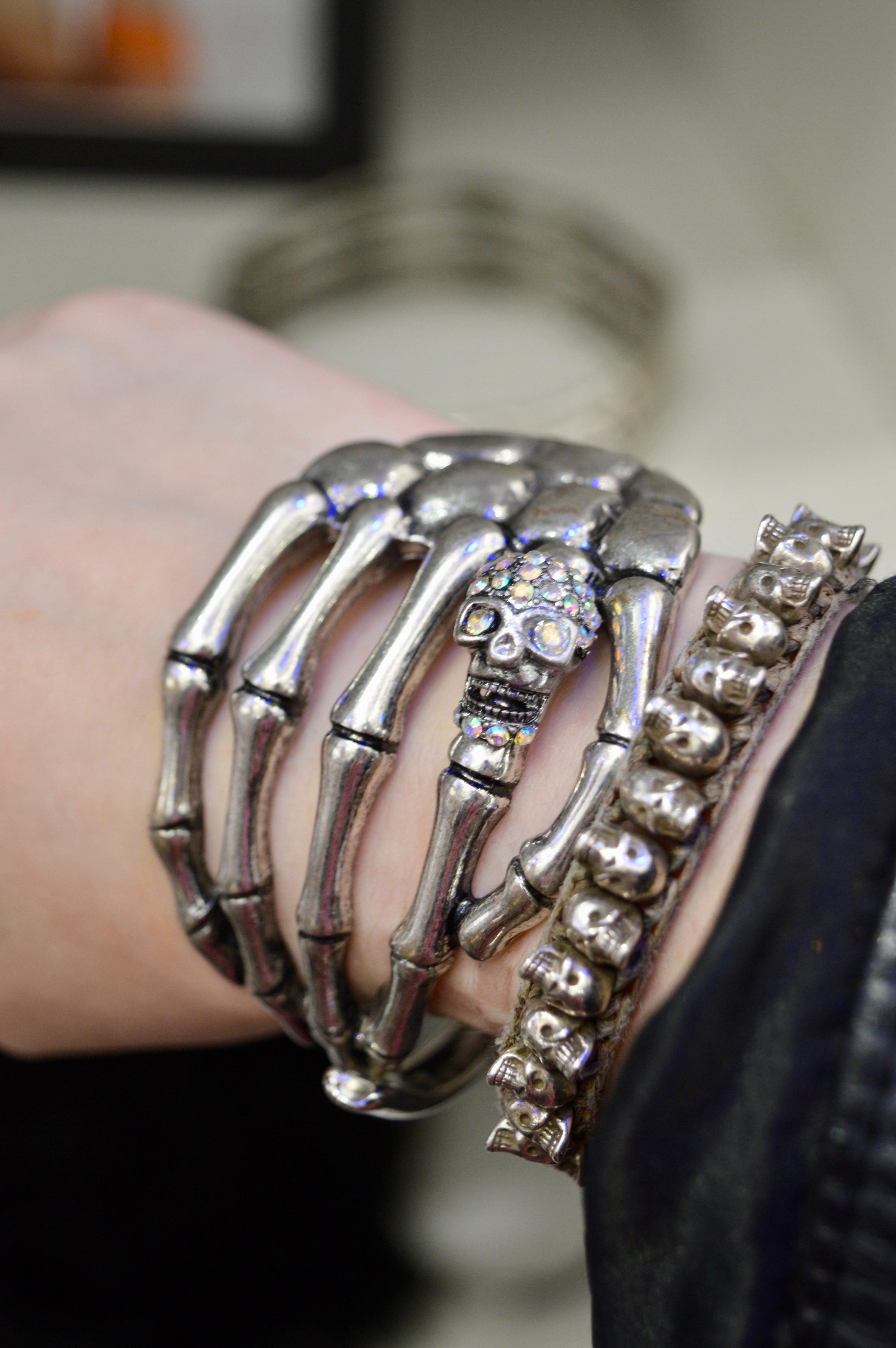 skull-bracelet-intu-eldon-square-winter-fashion-stylissimo-newcastle-high-street-halloween-elle-blonde-luxury-lifestyle-destination-blog