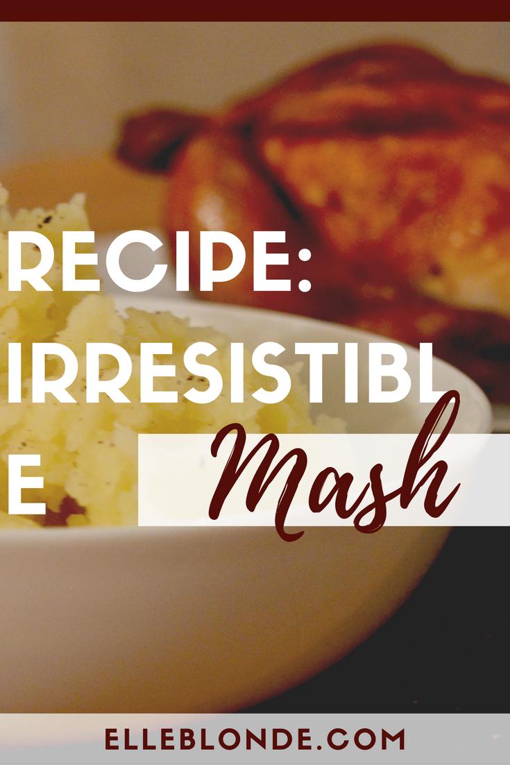 Recipe - delicious mashed potato | Co-op Irresistible Mashing Potatoes | Elle Blonde Luxury Lifestyle Destination Blog