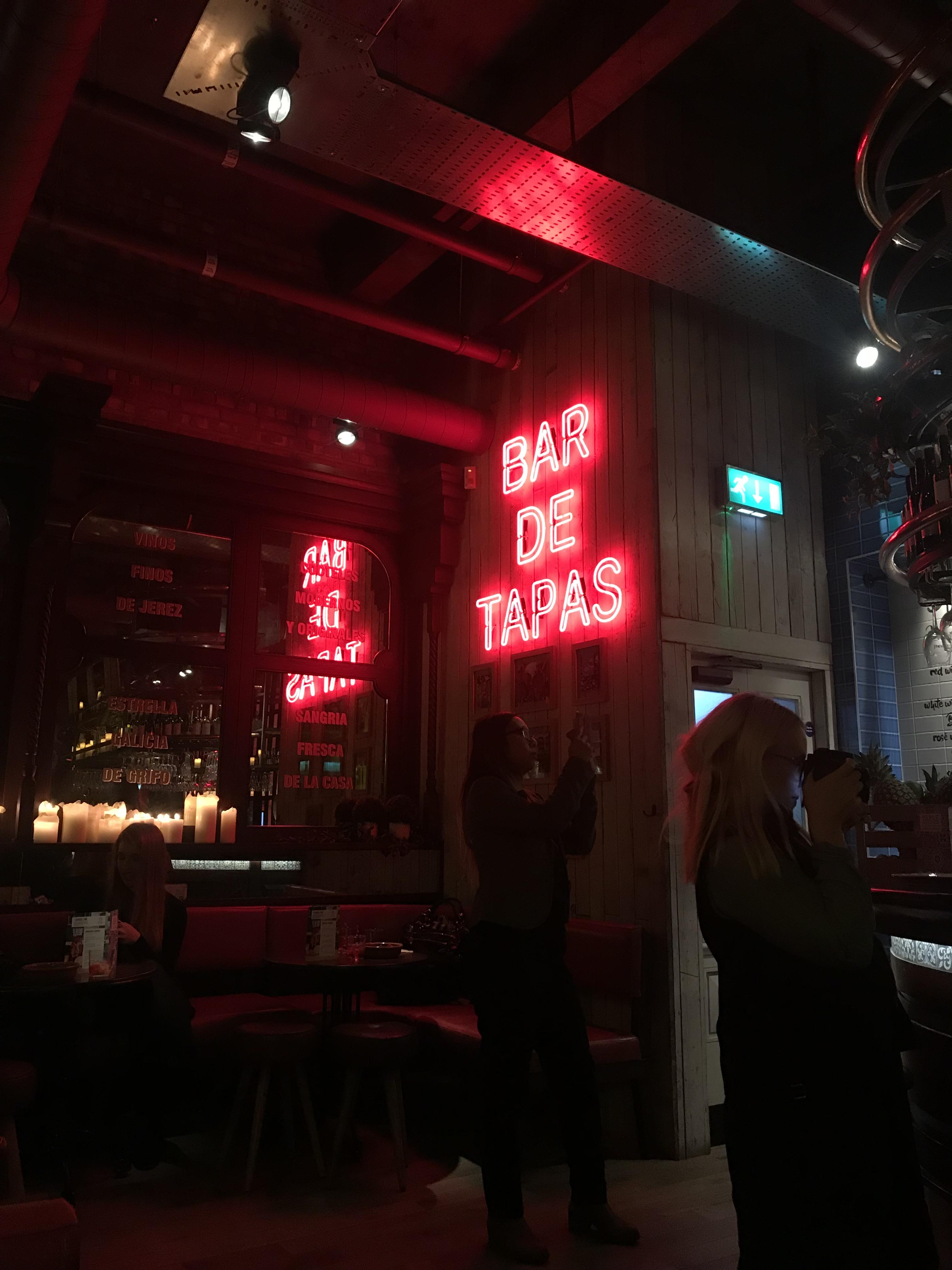 Tapas Revolution New Bar Opening | Elle Blonde Luxury Lifestyle Destination Blog