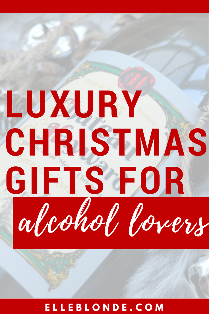 What to buy the alcohol connoisseur | Christmas Gift Guide | Elle Blonde Luxury Lifestyle Destination Blog