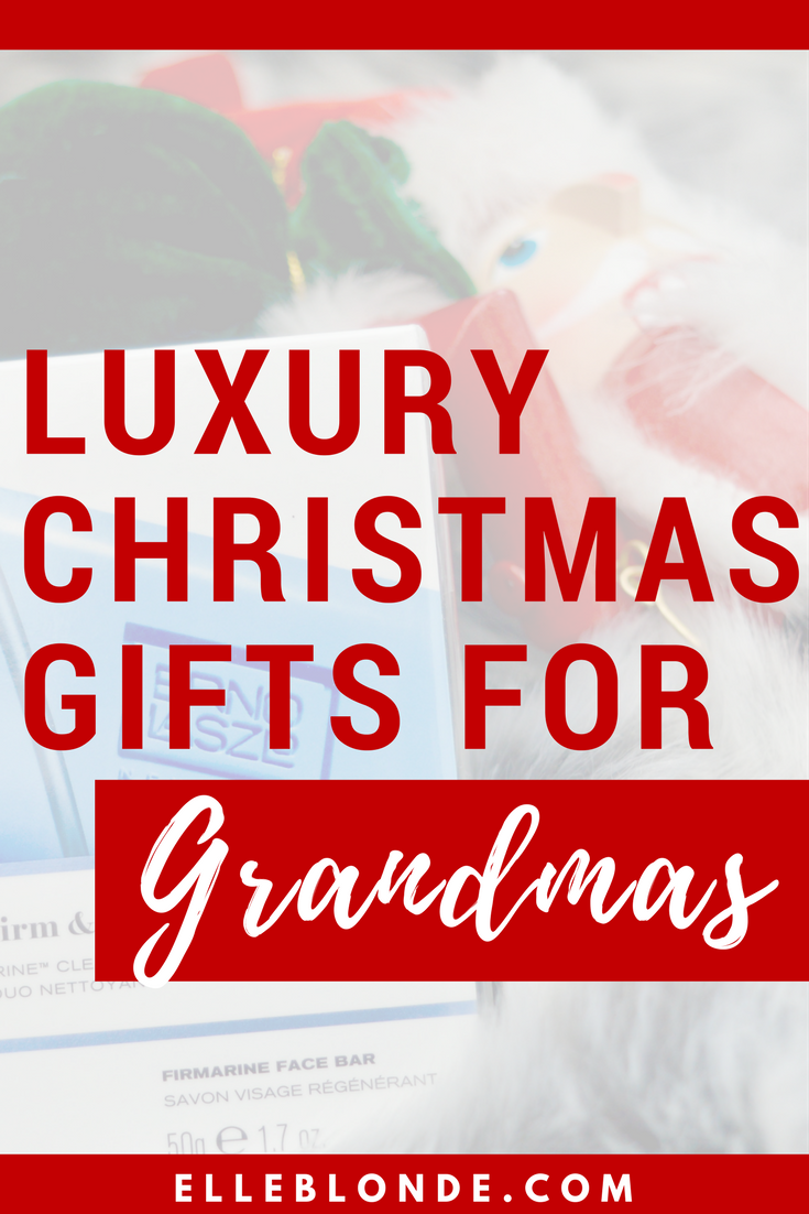 What to buy a glamorous grandma   Luxury gift guide   Elle Blonde Luxury Lifestyle Destination Blog