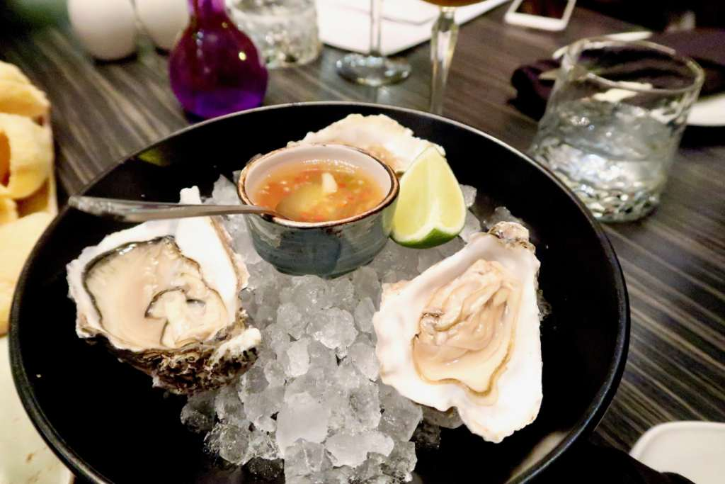Oysters |Parichat at SoHe Jesmond | Asian Fusion Dining in Newcastle | Where to eat... | Food & Drink Review | Elle Blonde Luxury Lifestyle Destination Blog