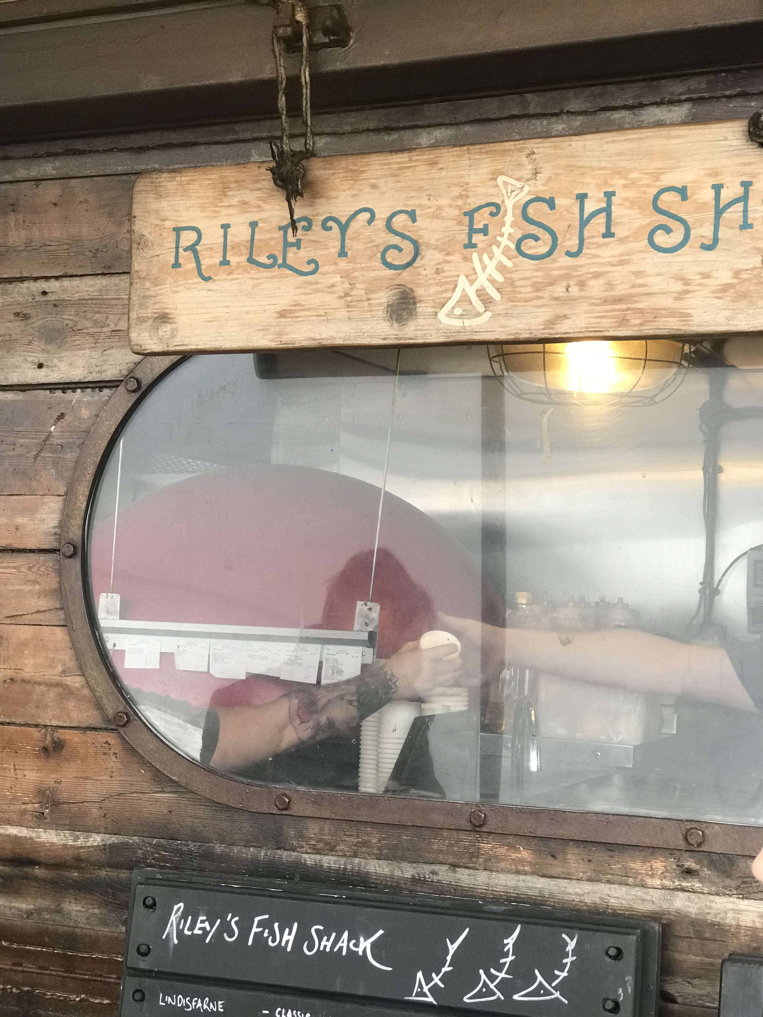 Top 10 best places to eat in Newcastle | Riley's Fish Shack, King Edwards Bay, Tynemouth | Restaurant Review | Elle Blonde Luxury Lifestyle Destination Blog