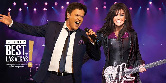 Donny & Marie Osmond Live in Las Vegas   10 things you mst see and do when in Las Vegas   Elle Blonde Luxury Lifestyle Destination & Travel Blog