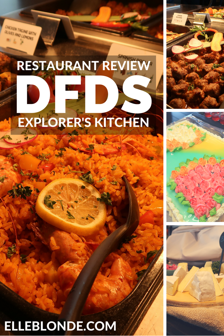 DFDS Mini Cruise Ferry Newcastle to Amsterdam   Weekend Getaway Breaks   The Explorer's Kitchen Review   Elle Blonde Luxury Lifestyle Destination Blog