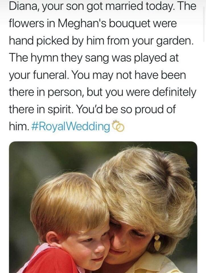 Royal Wedding Prince Harry remembers Diana | Elle Blonde Luxury Lifestyle Destination Blog