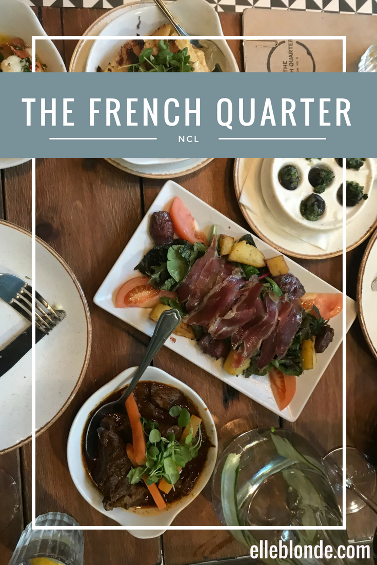 The French Quarter Newcastle | Where to go for food in Newcastle & the North East | Food Review | Elle Blonde Luxury Lifestyle Destination Blog