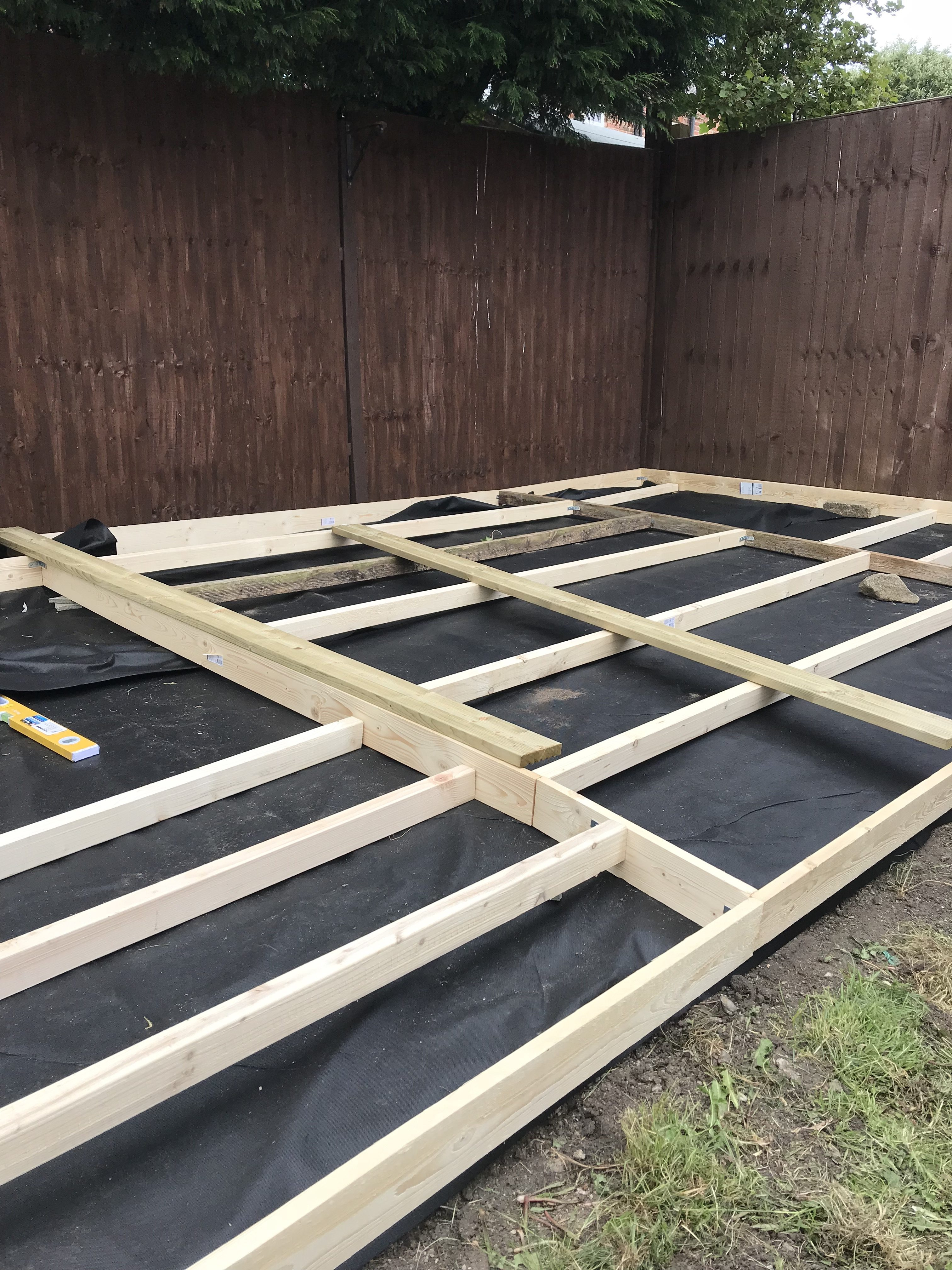 Building Decking | Garden renovation and transformation - styled on Love Island and Ocean Beach Ibiza | DIY Projects and Upcycling | Small garden inspo | Elle Blonde Luxury Lifestyle Destination Blog
