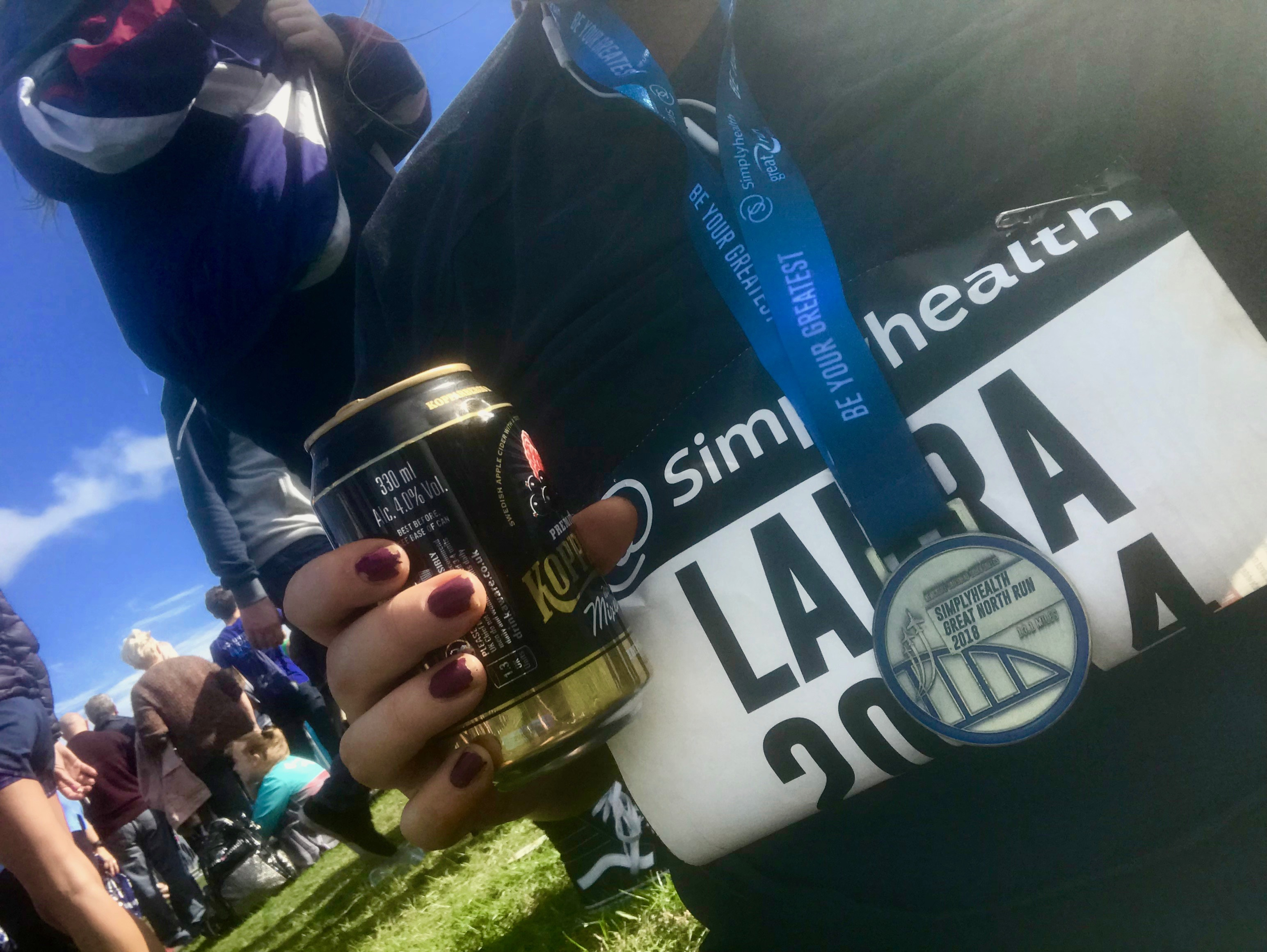 """Tips for running the Great North Run (or any half marathon) 
