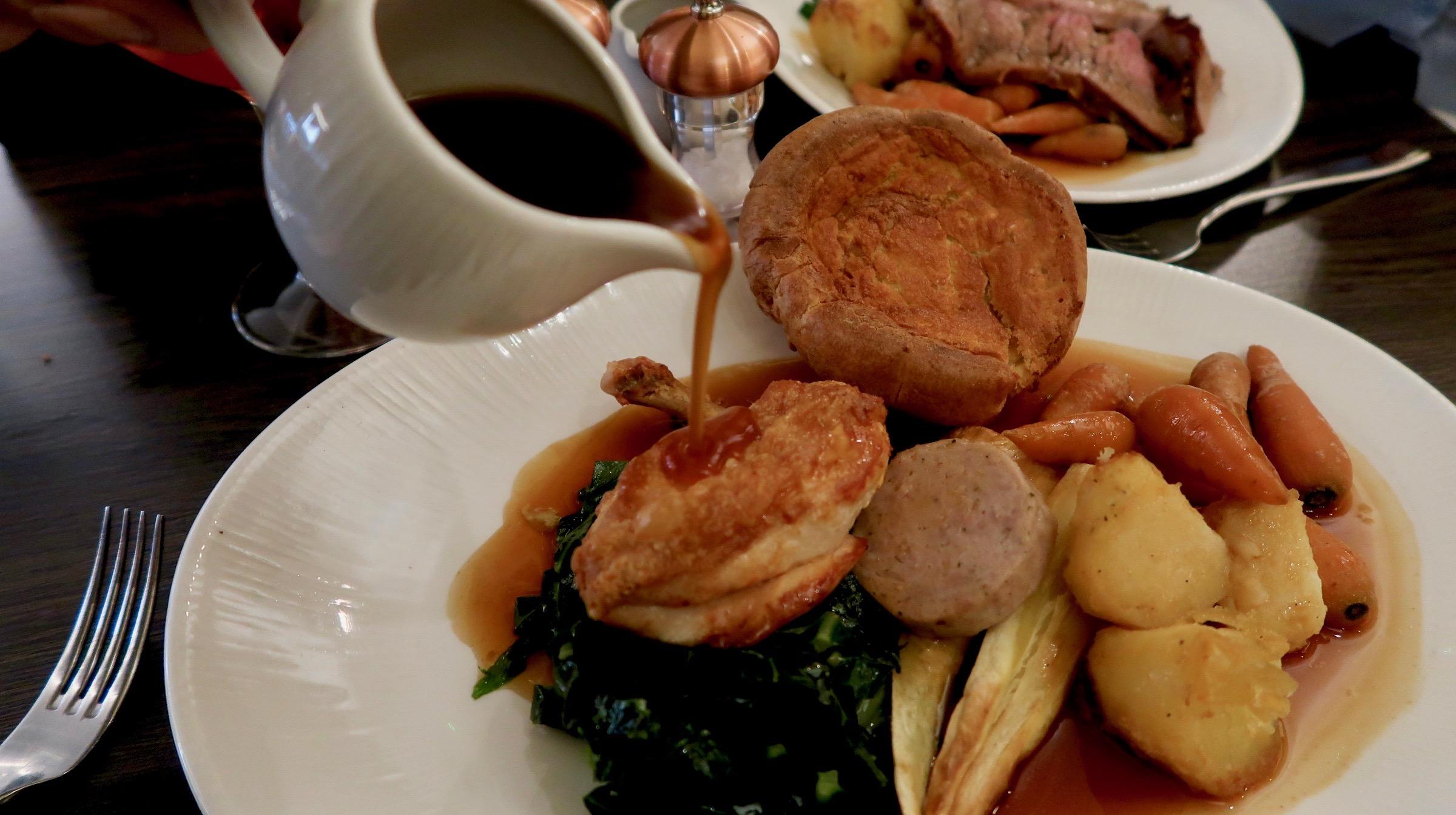 Sunday Dinner @ The Hudson, Newcastle 3