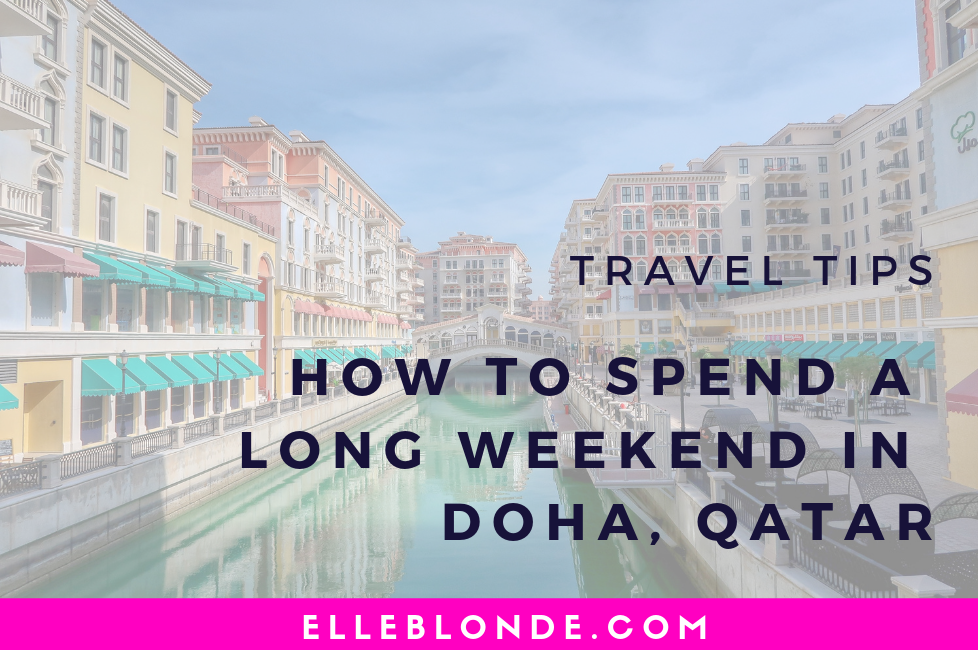 Visit Qatar – How to spend 4 Days in Doha 29
