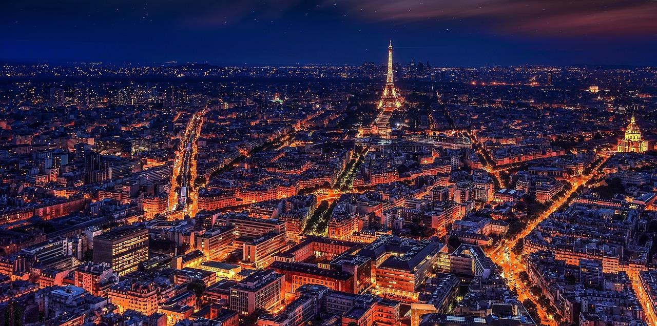 Visit Paris, the City of Light! 2