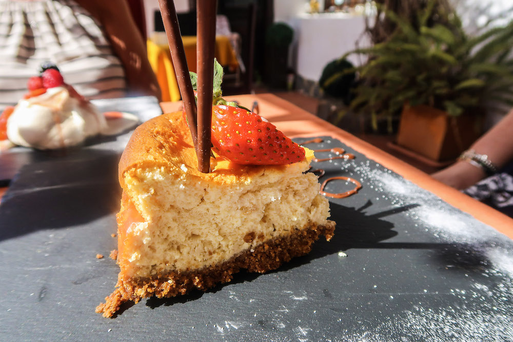 Where to eat in Tenerife | If you're visiting Tenerife you;ll want to head to Arona just out of town to Oliver's out of Town. This British owned restaurant serves up a creative selection of delicious food you won't want to miss out on including the best Sunday Roasts | Travel Guide | Elle Blonde Luxury Lifestyle Destination Blog
