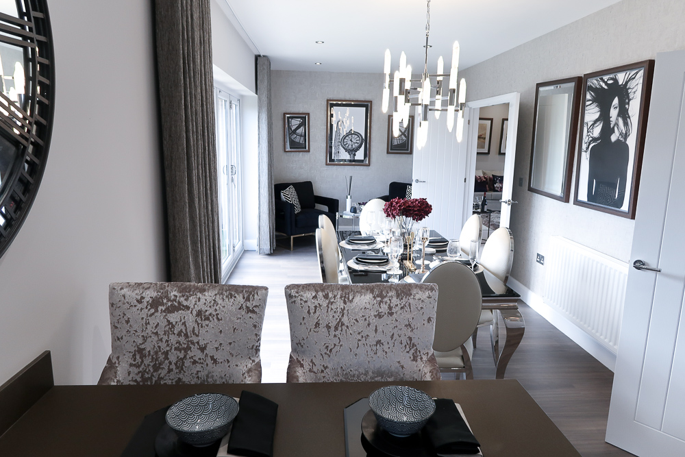 Movers | How to style a new home, from new builds to renovations we've got some great tips for home interior modern styling | The Jura Showhome from Miller Homes The Paddocks development in Longframlington | Elle Blonde Luxury Lifestyle Destination Blog