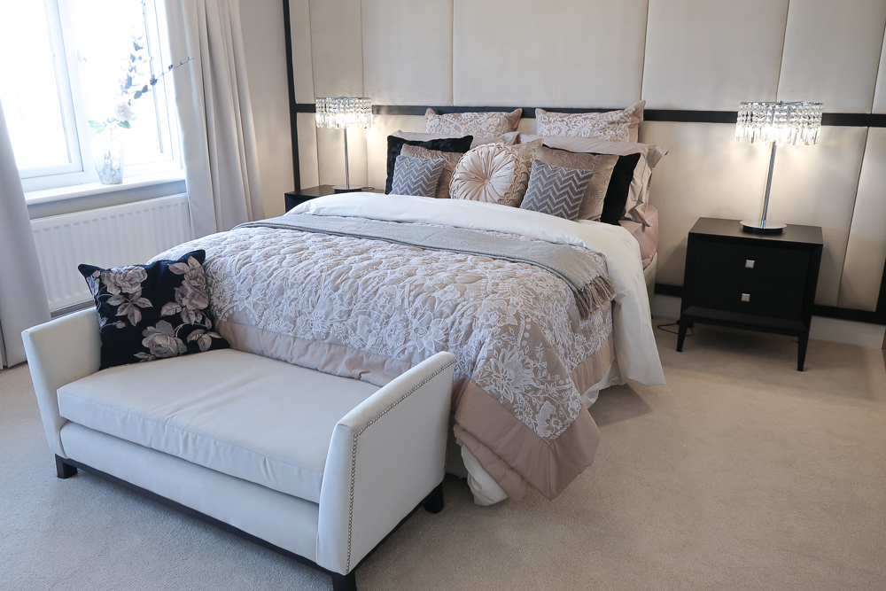 Buying a mattress | How to style a new home, from new builds to renovations we've got some great tips for home interior modern styling | The Jura Showhome from Miller Homes The Paddocks development in Longframlington | Elle Blonde Luxury Lifestyle Destination Blog