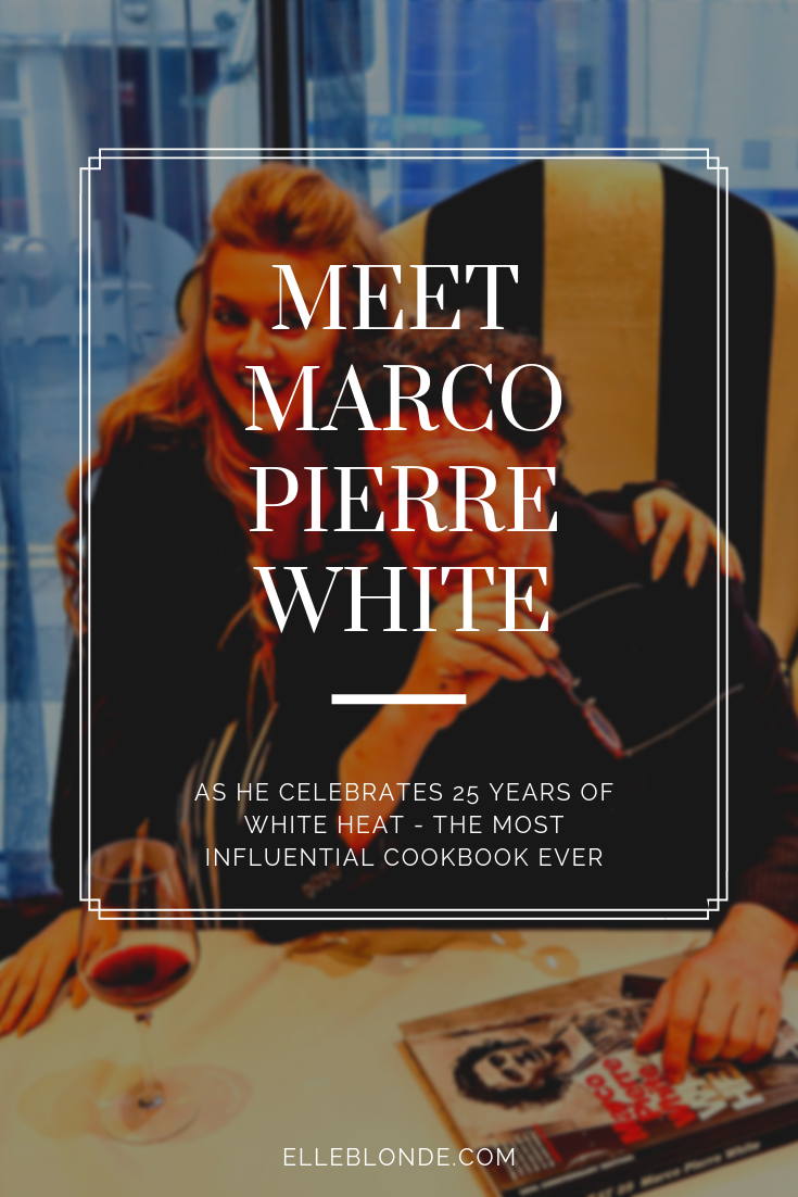 Meeting Marco Pierre White at MPW Newcastle 7