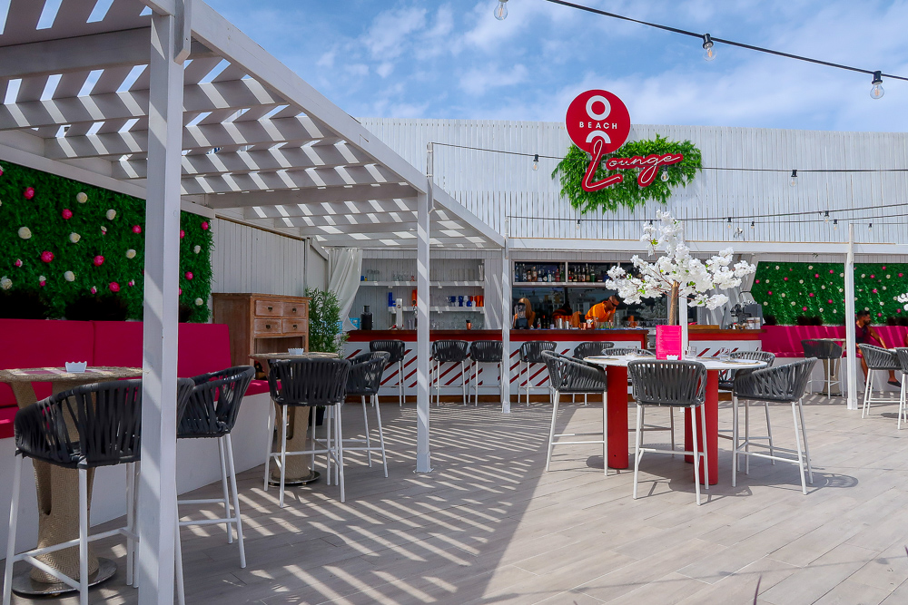 O Beach Lounge   Where's good to eat in San Antonio Ibiza, restaurant and food guide   Travel Tips   Elle Blonde Luxury Lifestyle Destination Blog
