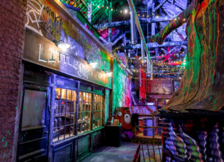Little Shop of Horrors | Ghetto Golf Swings into Newcastle | Things to do in Newcastle Crazy Adventure Golf | Elle Blonde Luxury Lifestyle Destination