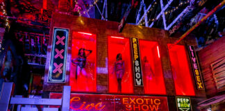 Peep Show Sex Shop Amsterdam   Ghetto Golf Swings into Newcastle   Things to do in Newcastle Crazy Adventure Golf   Elle Blonde Luxury Lifestyle Destination